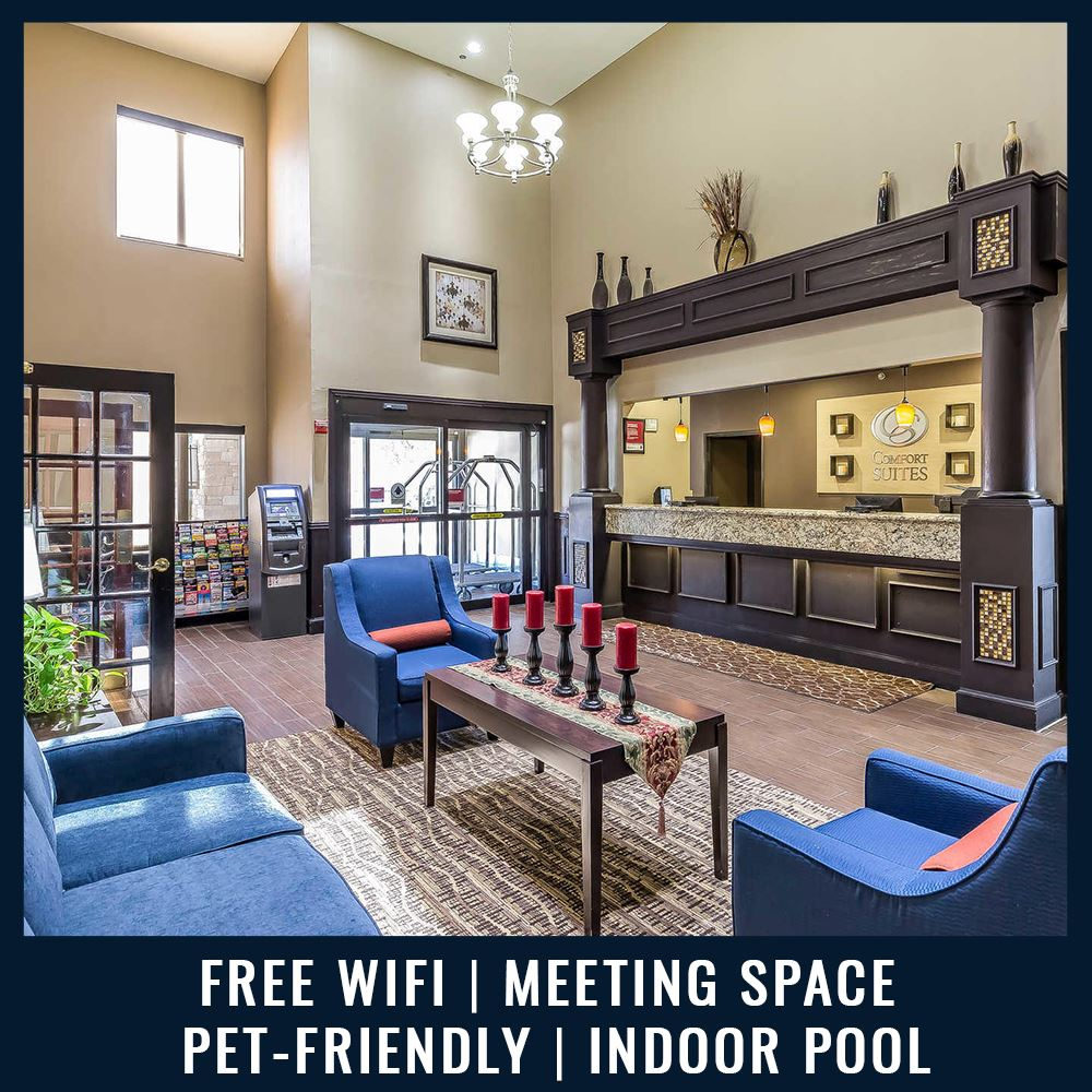 Comfort Suites - Free Wifi | Meeting Space | Pet-Friendly | Indoor Pool