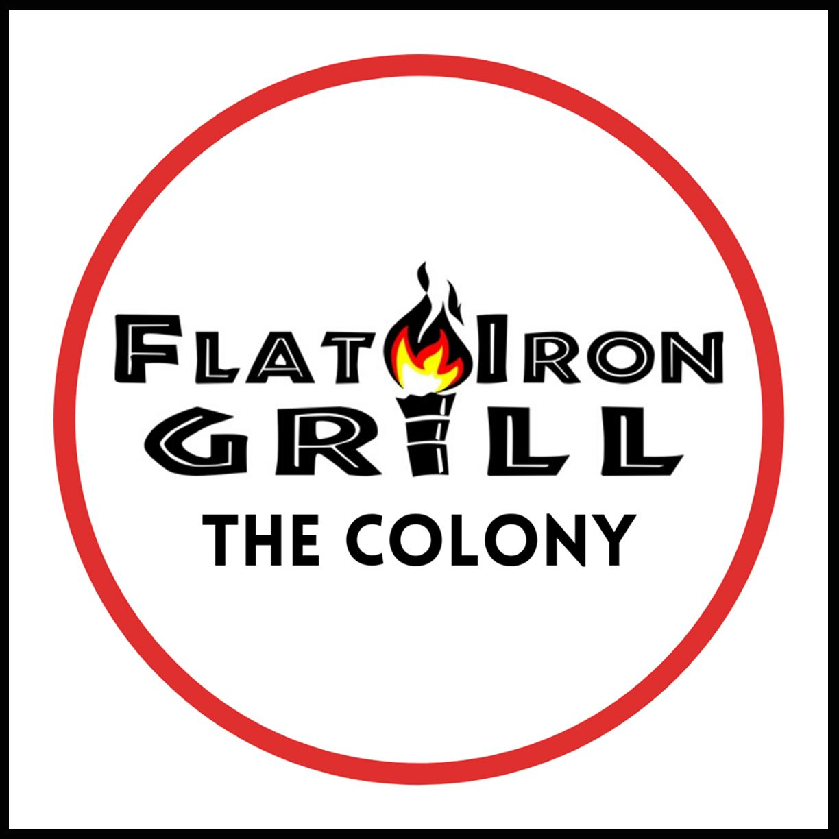 Flat Iron Grill Logo - Website Coupon Icon
