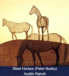 Steel Horses (Peter Busby) Austin Ranch