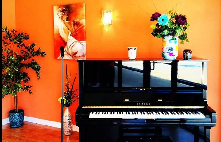 Piano at Sherry Stephanie Dance Studio