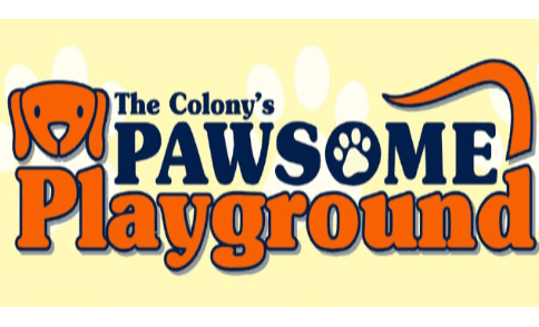The Colony's Pawsome Playground Logo